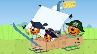 Три кота | Пианино | Серия 79 | Мультфильмы для детей
