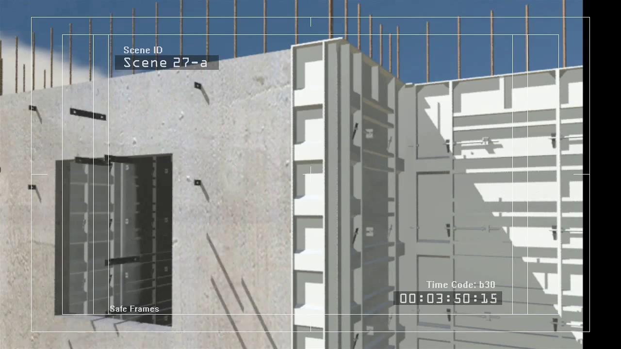 High rise concrete construction youtube for Concrete home construction