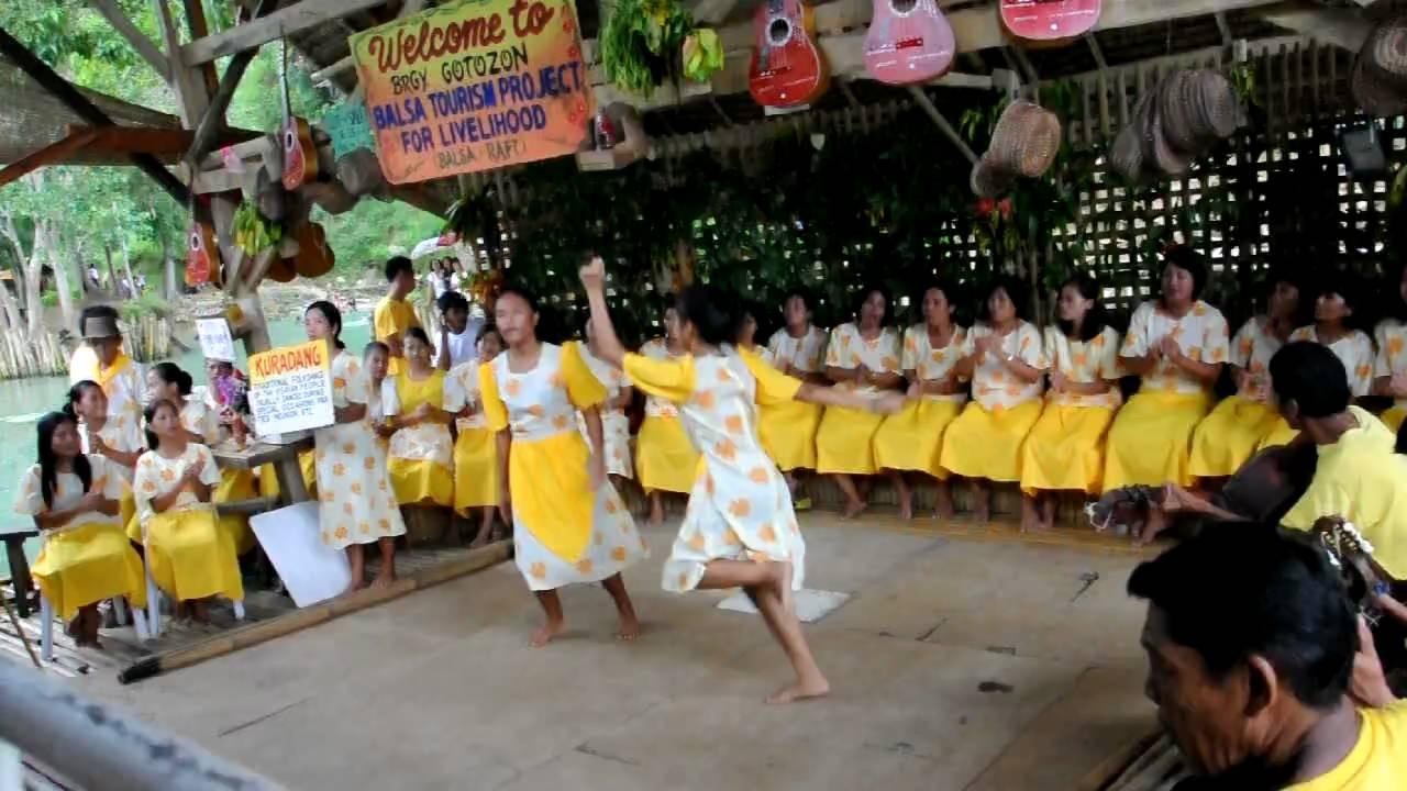 Hd Kuradang Dance Bohol Philippines Loboc River Cruise Balsa Tourism Project Youtube