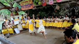 [HD] - Kuradang Dance - Bohol Philippines - Loboc River Cruise - Balsa Tourism Project