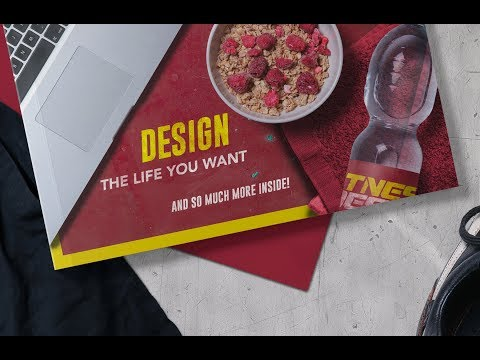 How to Create a Fitness and Design Magazine Mockup in Photoshop