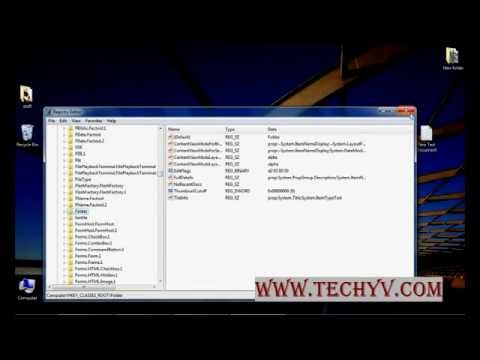 How to add/remove options to your right click menu | video tutorial by TechyV