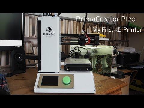 PrimaCreator P120 3D Printer Review