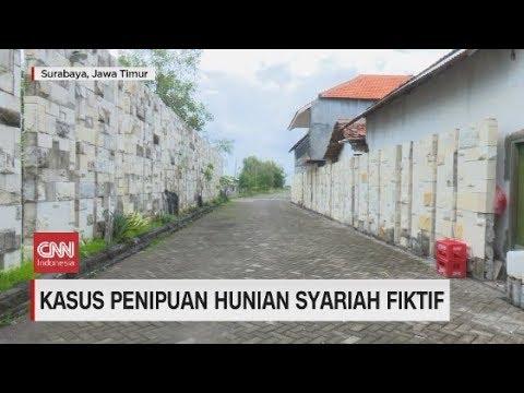 Berpagar Seng Begini Wujud Hunian Syariah Fiktif Di Surabaya