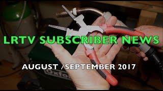 LRTV Subscriber Update. The Mole Pole & MIG Welders Combination Pliers.