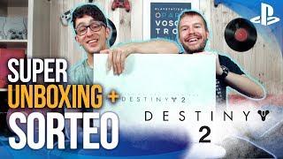 ¡¡SÚPER UNBOXING Y SORTEO de DESTINY 2!!