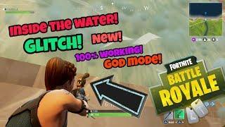 Fortnite Battle Royale Glitch (Inside the water) insane Glitch on PS4/Xbox one