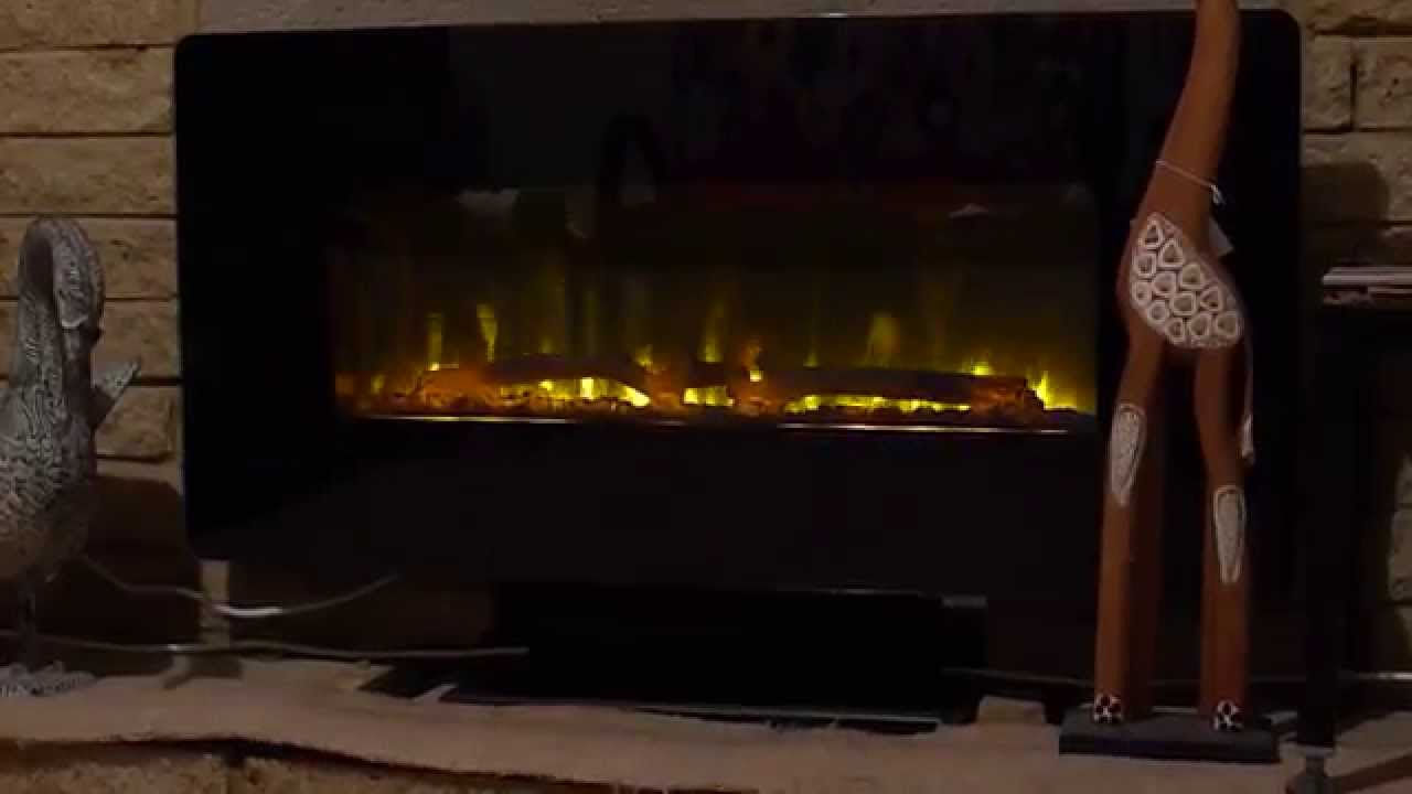 Muskoka electric fire from Costco £119.99 - YouTube