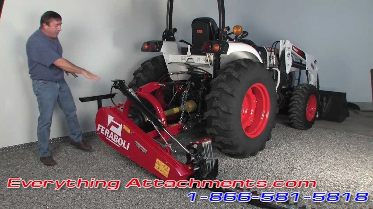 Tractor Sickle Mowers