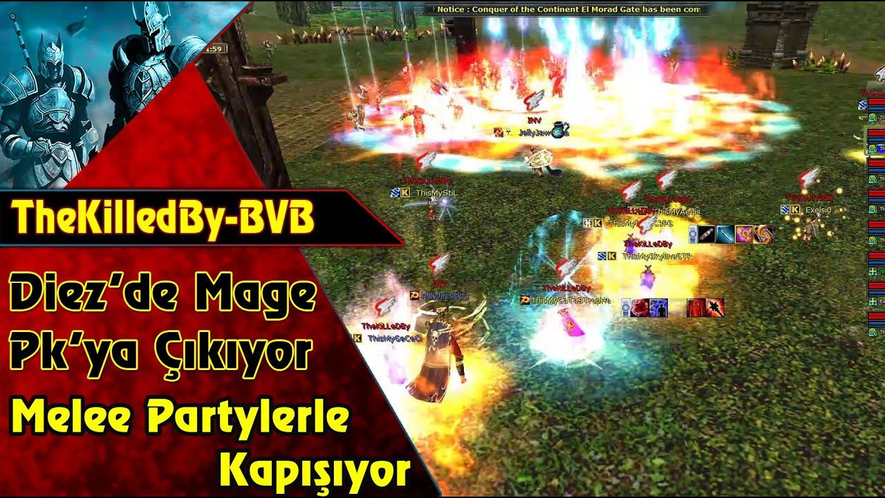 TheKilledBy - Tolga  Diez'de Mage PK'sına Çıkıyor   Knight Online   CZ   PK