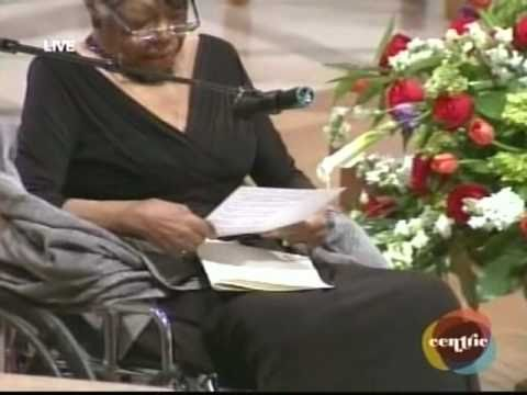 PSALM 139 - MAYA ANGELOU HONORS DR. DOROTHY HEIGHT
