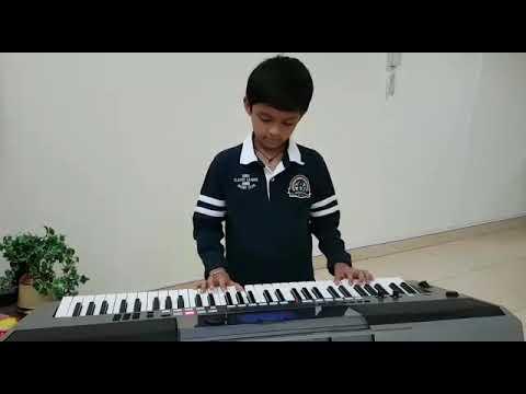 'Tu Jo Mila' (Bajarangi Bhaijaan) keyboard play by Atharva