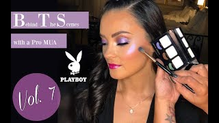 BTS w/ a PRO MUA | Vol. 7 | Jet-setting + PLAYBOY 🐰