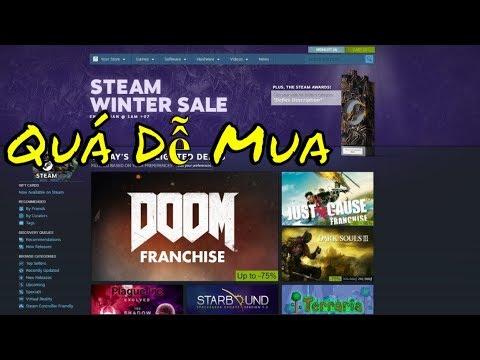 Hướng Dẫn Nạp Tiền và Mua Game Trên Steam,Cách Tải Game Bản Quyền