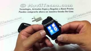 Reloj con telefono móvil deportivo en MovilTecno.com