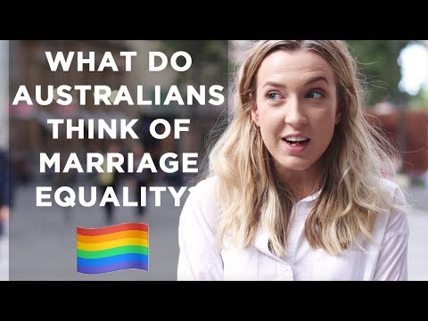 WHAT AUSTRALIANS THINK OF MARRIAGE EQUALITY