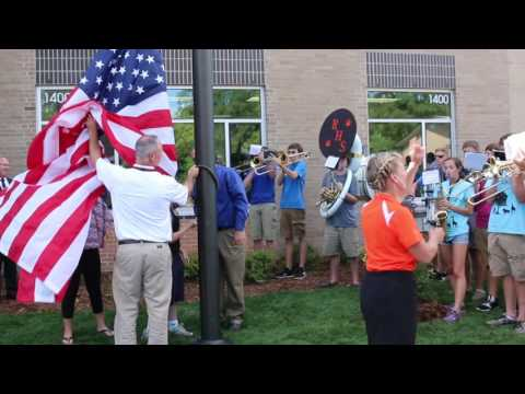 Flag raised at new Ripon Middle School