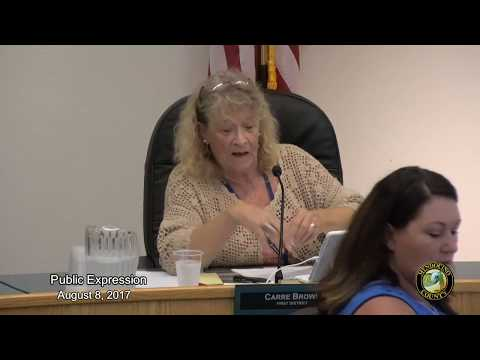 Board of Supervisors 8-8-2017