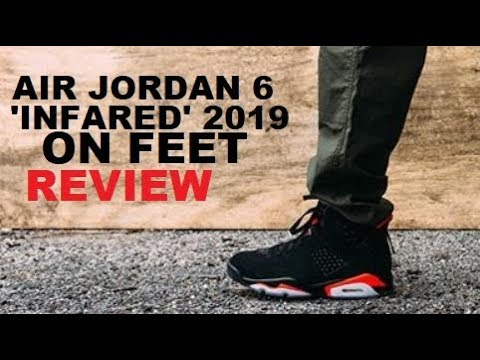 competitive price 6d8bd 06ac7 2019 Air Jordan 6 Infrared Retro OG Shoes Honest Review On Feet With Sizing  - BAD QUALITY