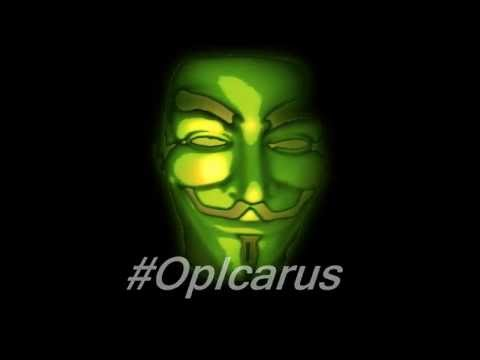 ANONYMOUS - Prelude to #OpIcarus/#OpBlackOct- 2016