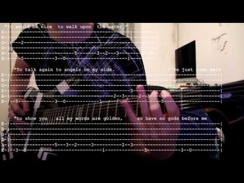 Second Coming (Alice Cooper) Cover, Tab and Lyrics