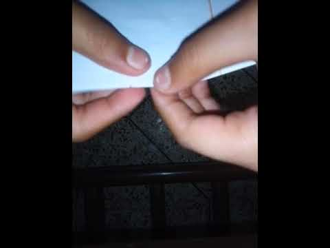 How to make paper whistle