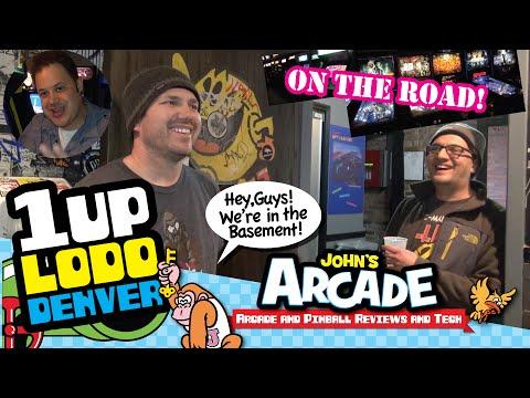 1UP Bar Arcade All Access Tour - Denver, CO - LODO - Classic Arcade And Pinball Games Galore!
