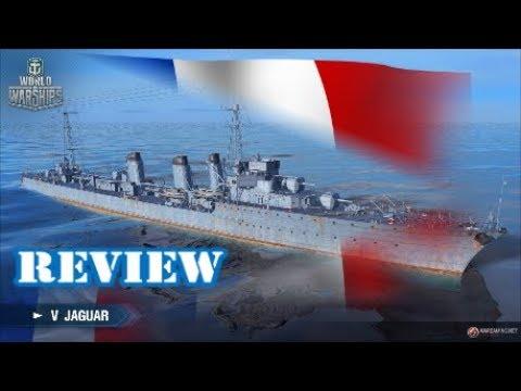 World of Warships - T5 Jaguar Review