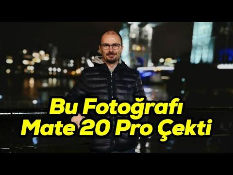 Mate 20 Pro kamera testi | Düşük ışıkta fotoğraf ve video