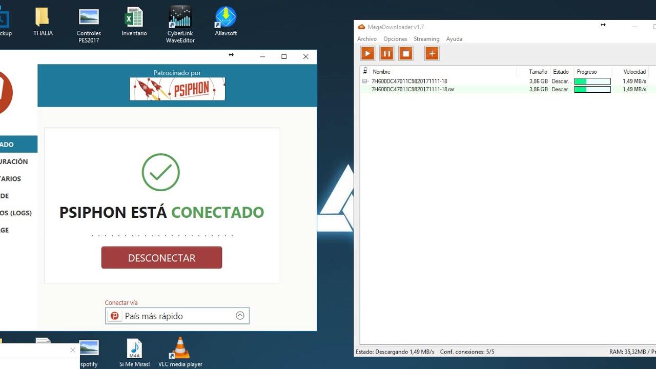 MegaDownloader 1.7 La solucion - Error de descarga - Reanudar ...