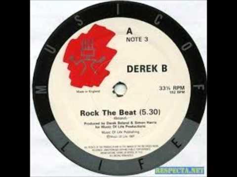 DEREK B,, ROCK THE BEAT