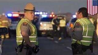Man shoots trooper, Good Samaritan shoots back  trooper attacked while helping hurt lady   TomoNews