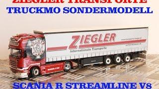 WSI Lkw Modell Ziegler Transporte Scania R Streamlineline Topline V8 Showtruck TRUCKMO 02-2006