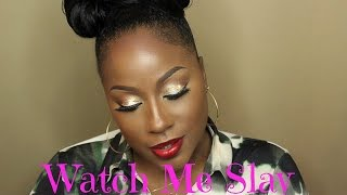 Watch Me Slay | 0 To 100 | GRWM | Makeup Transformation