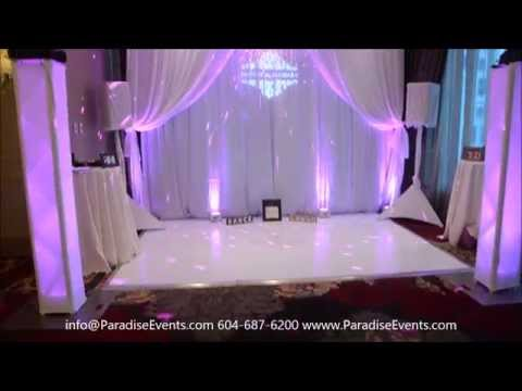 Wedding Show Booth Setup at Hush 2015 in Terminal City Club Vancouver