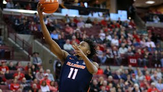 Illinois Men's Basketball Highlights at Ohio State | 2/14/19
