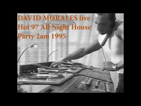 David Morales live at Hot 97 All Night House Party 2am 1995
