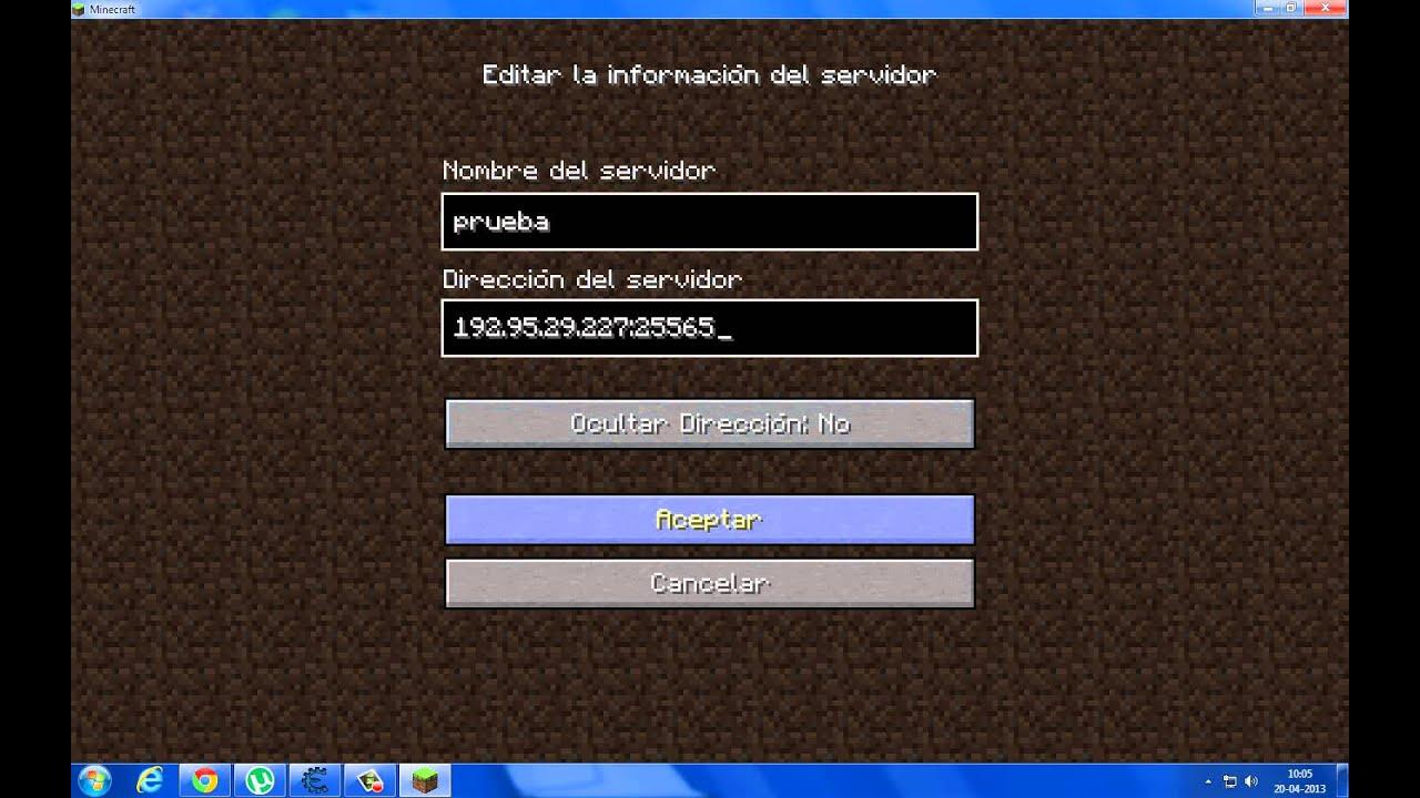 Como Jugar Minecraft Online Sin Descargar Hamachi Youtube