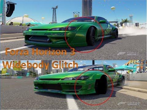 Forza Horizon 3 Widebody Bumper Glitch!!!