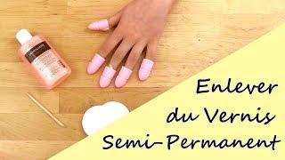 Enlever du Vernis Semi-Permanent | Technique de Base
