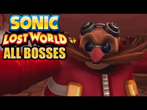 Sonic Lost World All Bosses