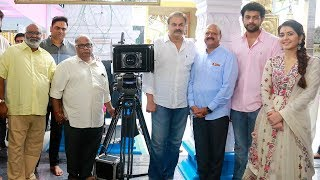 Varun Tej & Raashi Khanna's New Movie Launch