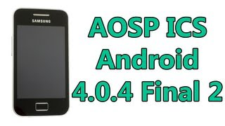 ROM AOSP Final 2 en un Samsung Galaxy Ace | Review - TheVigoFlax