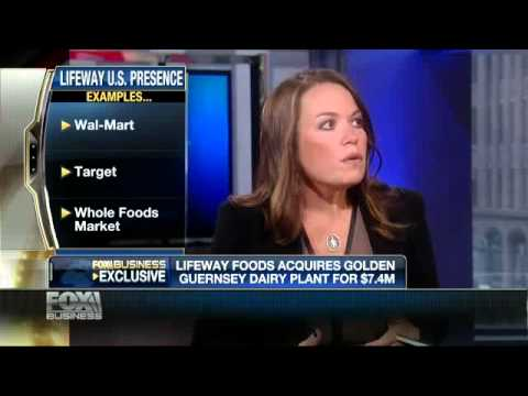 Lifeway Foods CEO Julie Smolyansky on FOX Business After the Bell on 8-13-13
