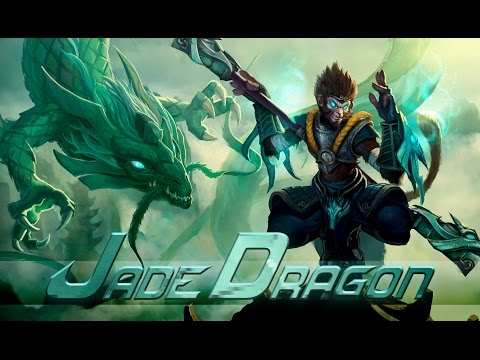 League of Legends: Jade Dragon Wukong (Skin Spotlight)