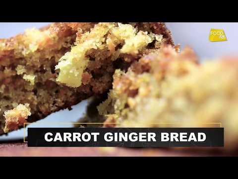 Carrot Ginger Bread | Carrot Ginger Cake | कैरोट जिंजर ब्रेड | Baking Recipes | Food Tak