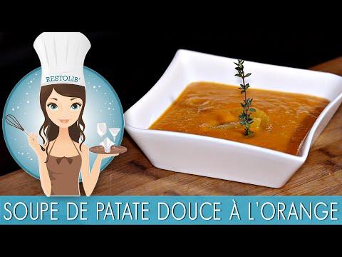 recette-:-soupe-de-patate-douce-à-l'orange