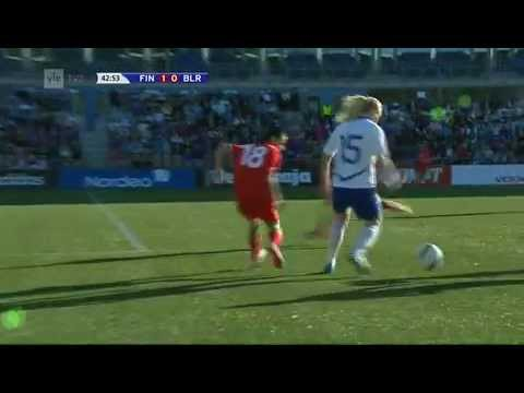 Finland vs Belarus (UEFA Women's Euro 2013 - qualifying round) part 2/4