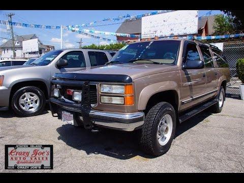 1995 GMC Suburban 454 V8 4x4 2500  YouTube
