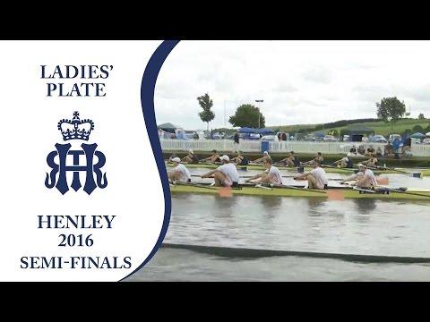 California Berkeley v Leander & Tees   Semi-Finals Day Henley 2016   Ladies' Plate